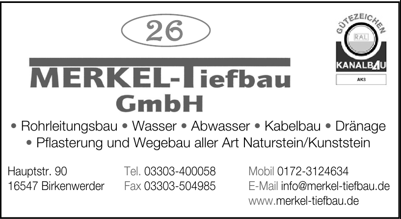 Merkel-Tiefbau GmbH