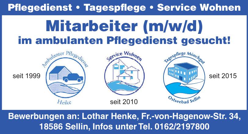 Lothar Henke Pflegedienst