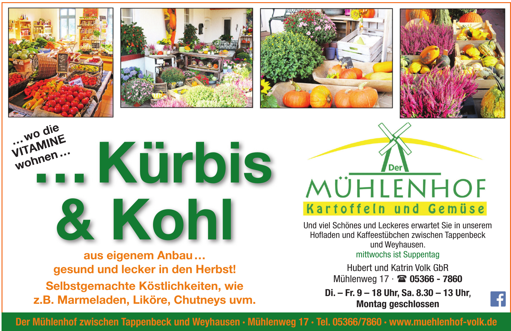 Mühlenhof - Hubert und Katrin Volk GbR