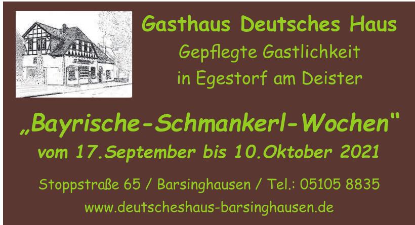 Gasthaus Deutsches Haus