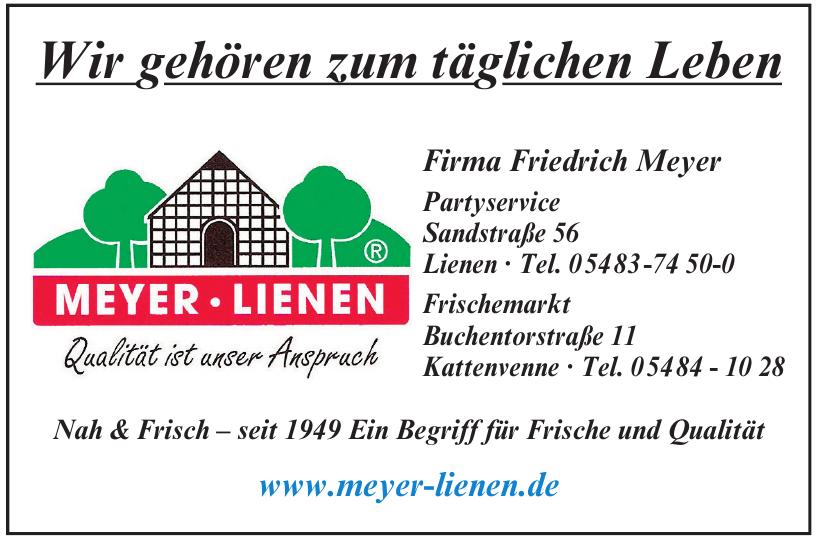 Friedrich Meyer Lienen
