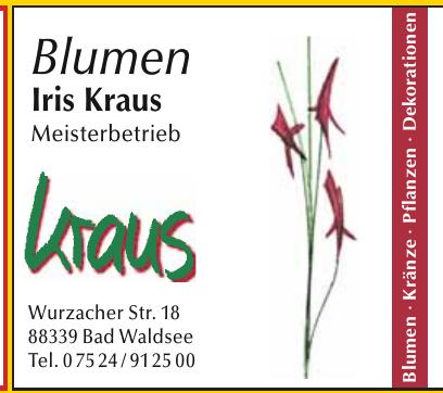 Blumen Iris Kraus Meisterbetrieb