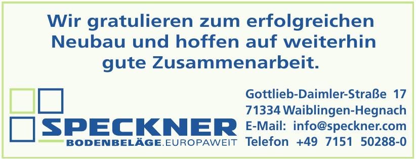 Speckner