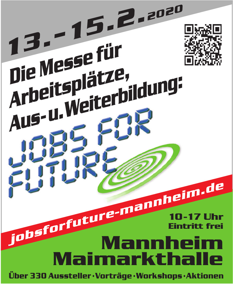 Jobs for future