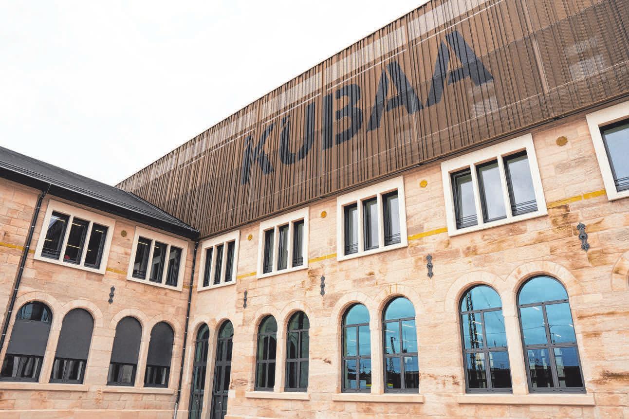Der neue Kulturbahnhof in Aalen, das KUBAA.