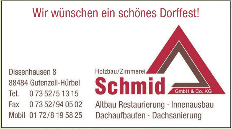 Schmid Holzbau GmbH & Co.KG