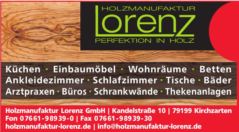 Holzmanufaktur Lorenz GmbH