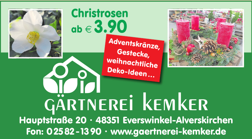 Gärtnerei Kemker