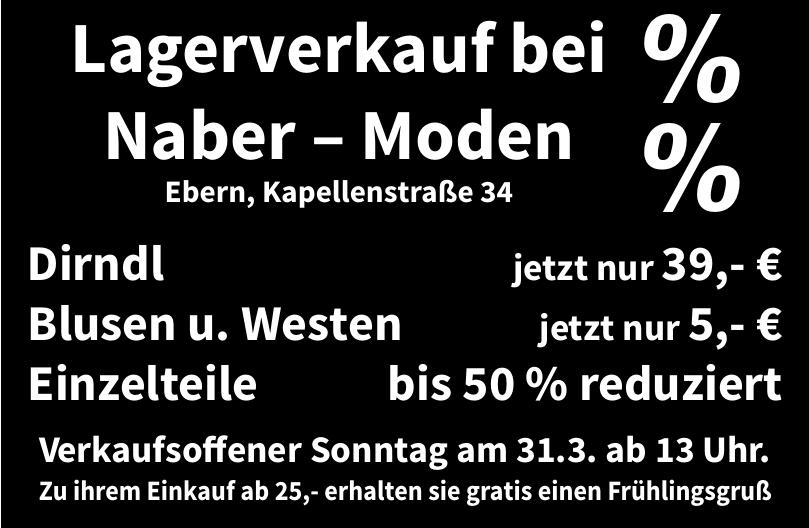 Naber – Moden