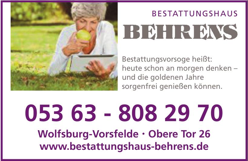 Bestattungshaus Behrens