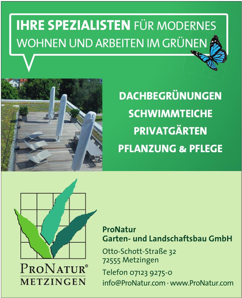 ProNatur Garten- und Landschaftsbau GmbH