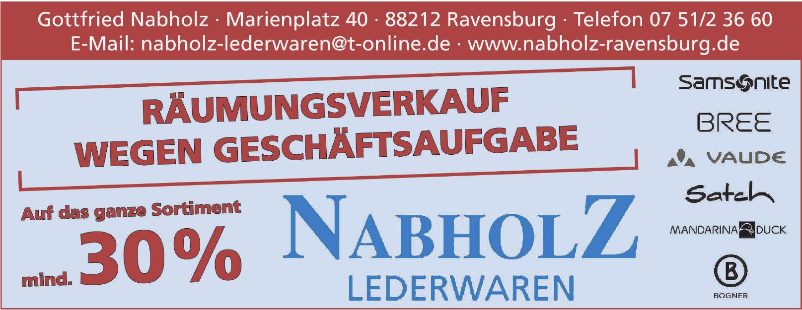 Gottfried Nabholz