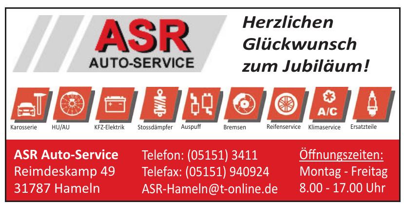 ASR Auto-Service