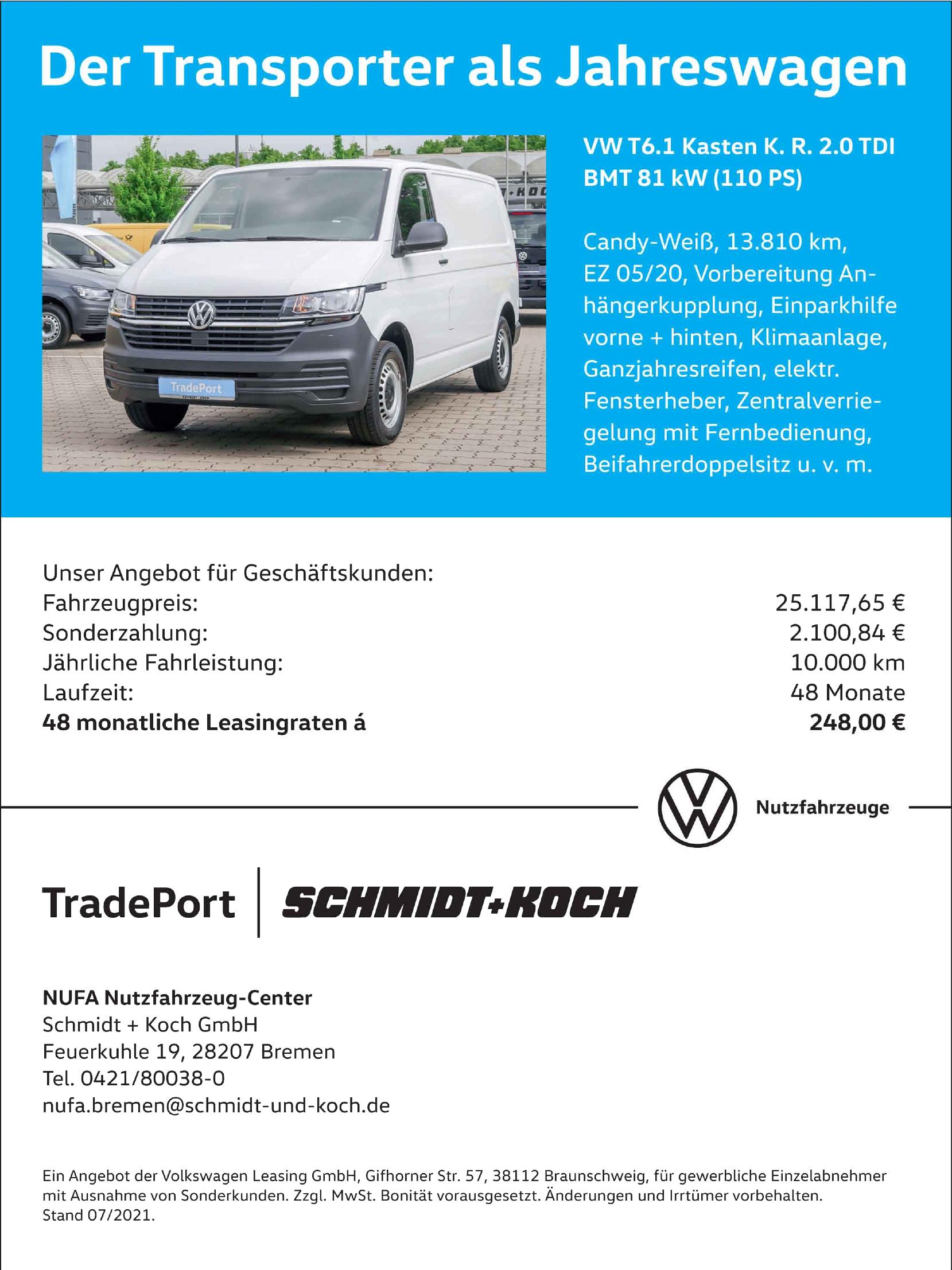 NUFA Nutzfahrzeug-Center Schmidt + Koch GmbH