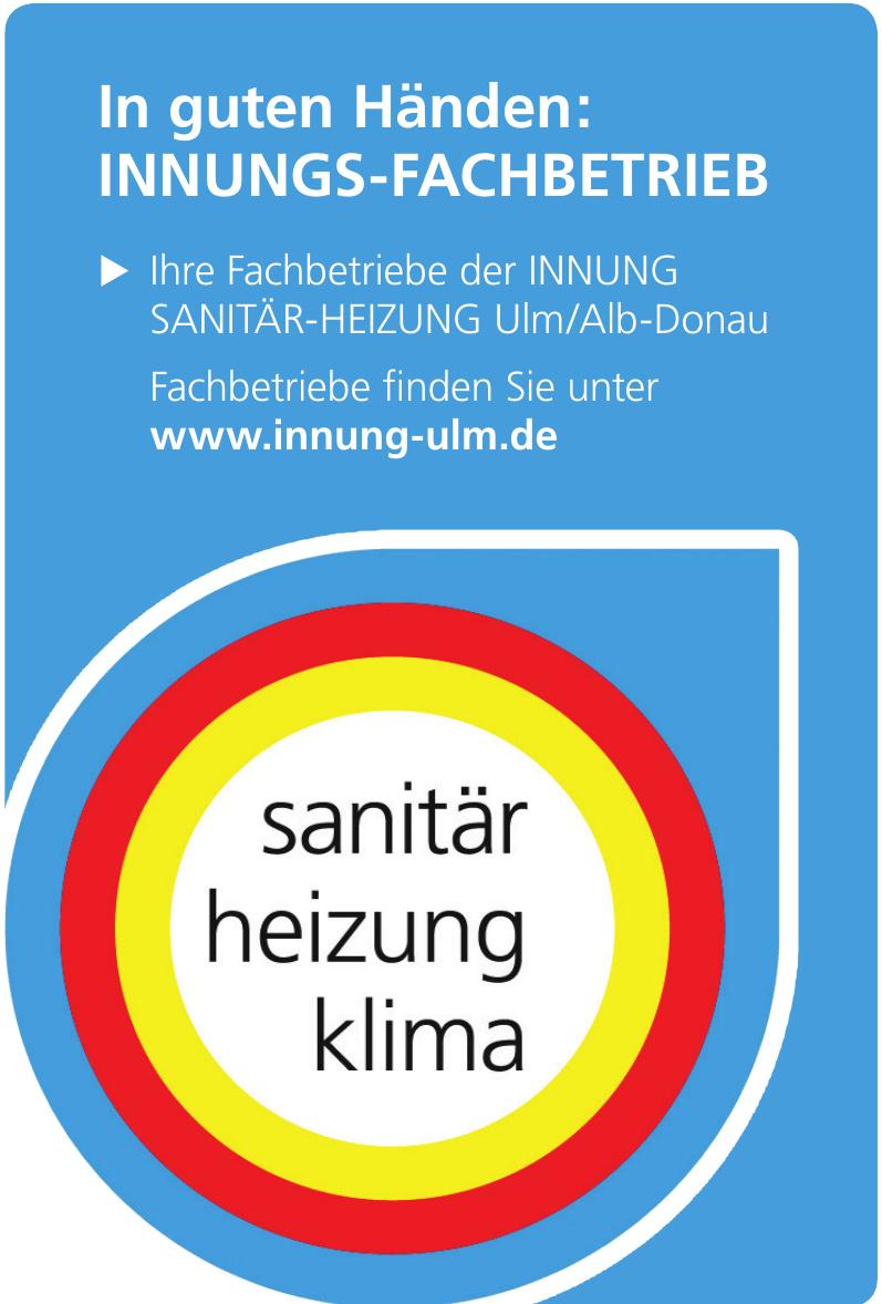 Innung Sanitär-Heizung Ulm/Alb-Donau