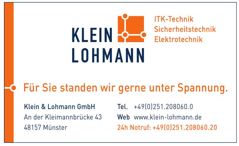 Klein & Lohmann GmbH