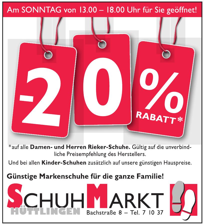 SchuhMarkt Hüttlingen