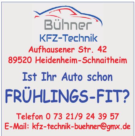 Bühner KFZ-Technik