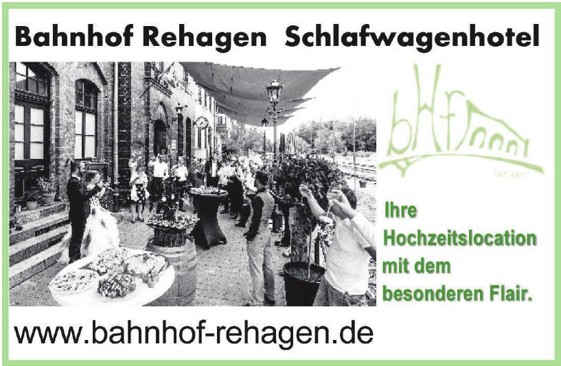 Bahnhof Rehagen Schlawagenhotel