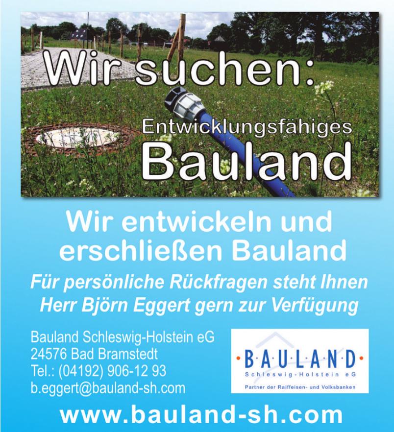 Bauland Schleswig-Holstein eG