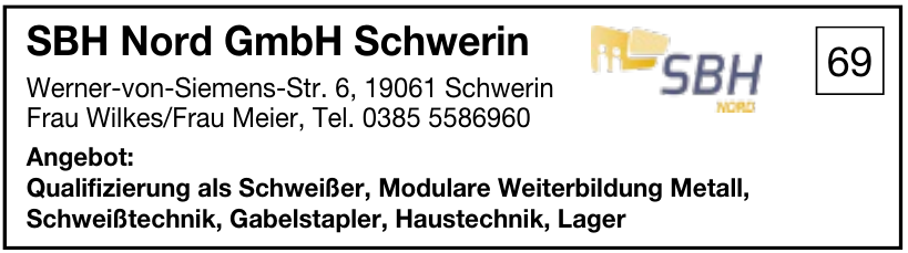 SBH Nord GmbH Schwerin