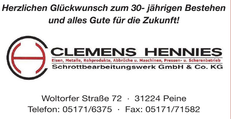 Clemens Hennies Schrottbearbeitungswerk GmbH & Co. KG