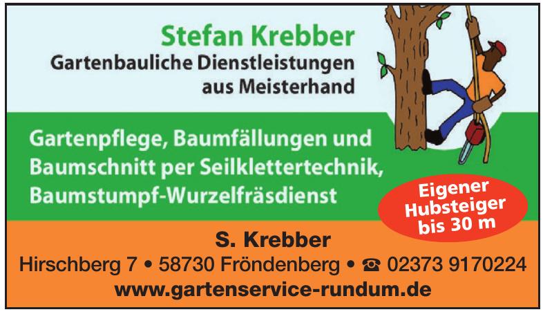 Stefan Krebber Gartenbauliche Dienstleistungen aus Meisterhand