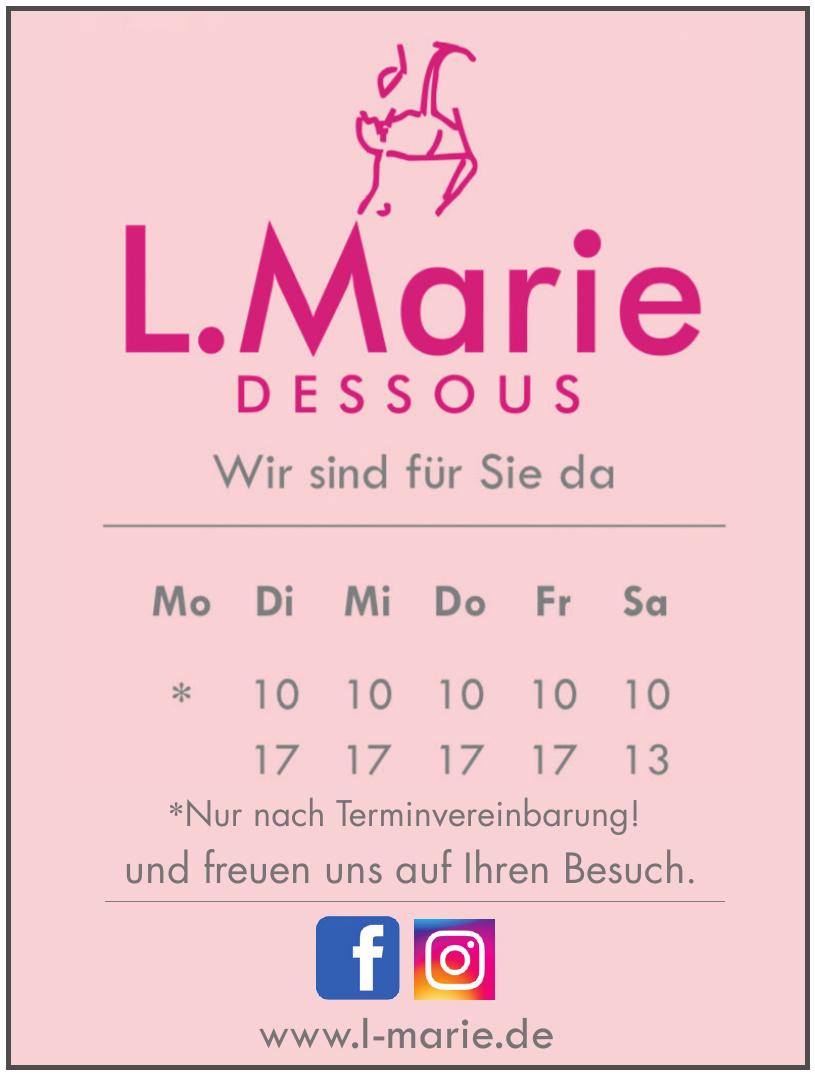 L.Marie Dessous