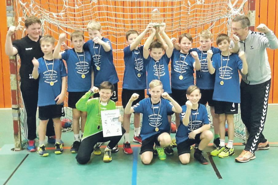Kategorie Mannschaft/Jugend: E-Jugendhandballmannschaft SG Wittingen-Stöcken. 0137-988703013