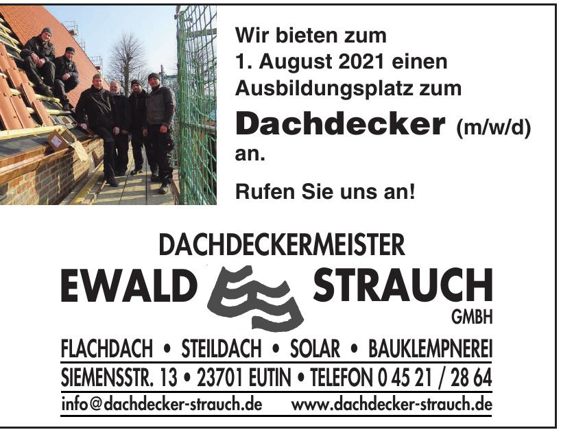 Ewald Strauch Dachdeckermeister