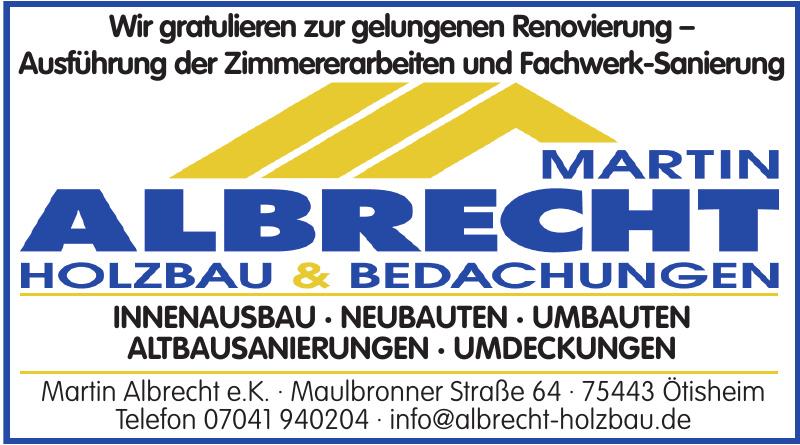 Martin Albrecht e.K.