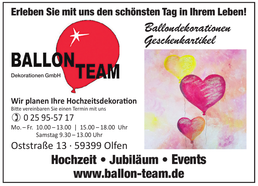 Ballon Team Dekorationen GmbH
