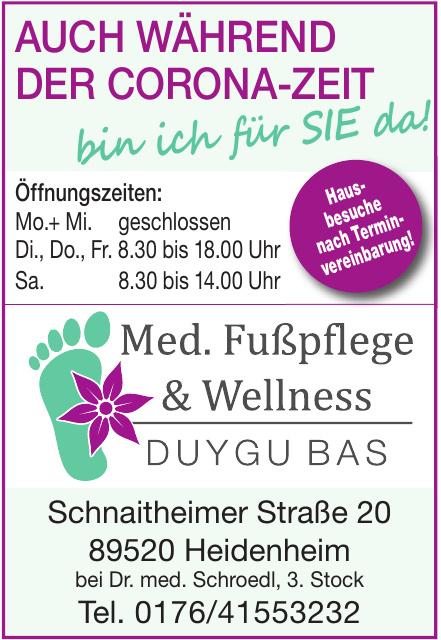 Med. Fußpflege & Wellness Duygu Bas