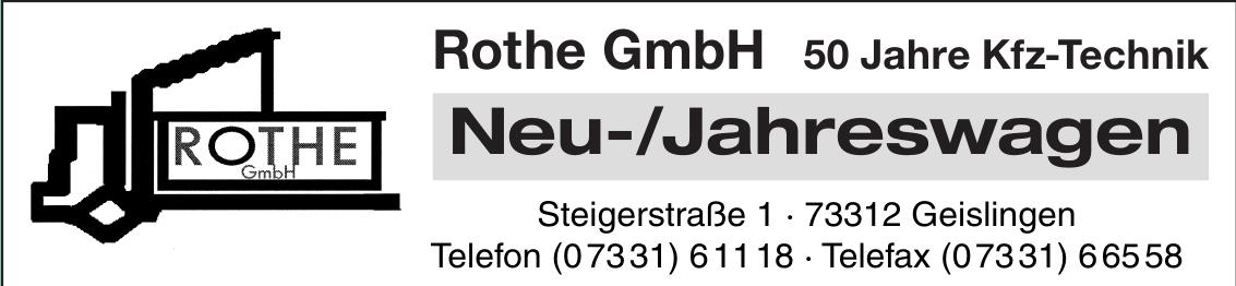 Rothe GmbH Kraftfahrzeugtechnik