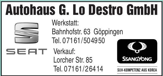 Autohaus G. Lo Destro GmbH