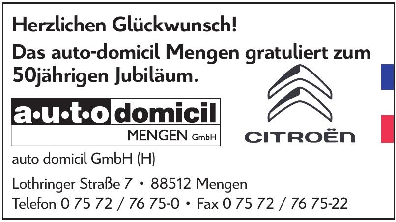 auto domicil GmbH (H)