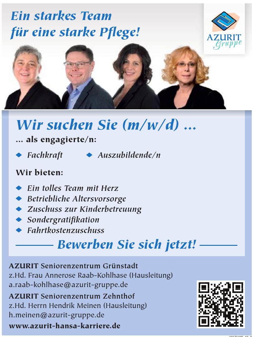 AZURIT Seniorenzentrum Zehnthof