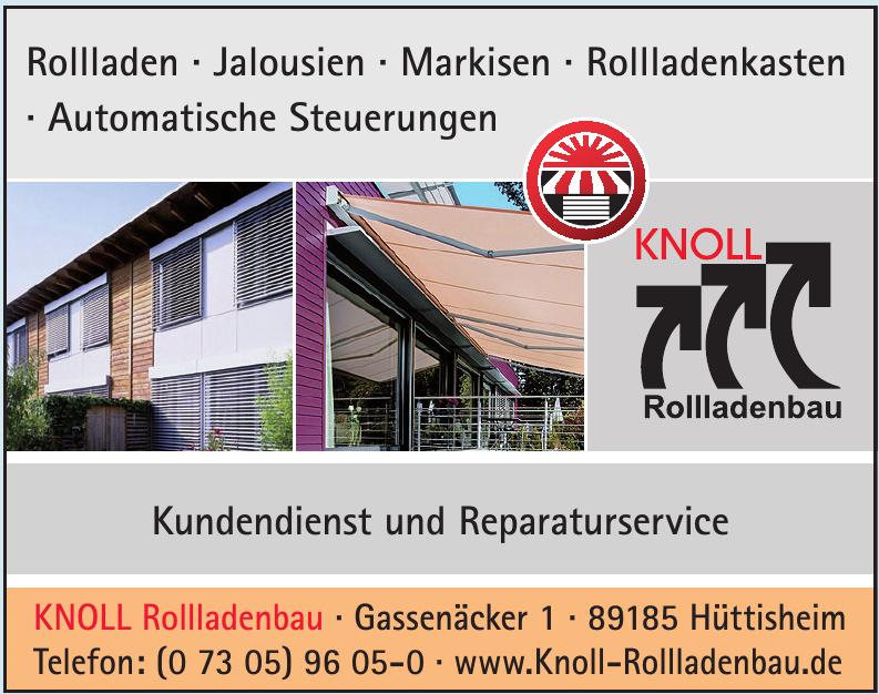 Knoll Rollladenbau