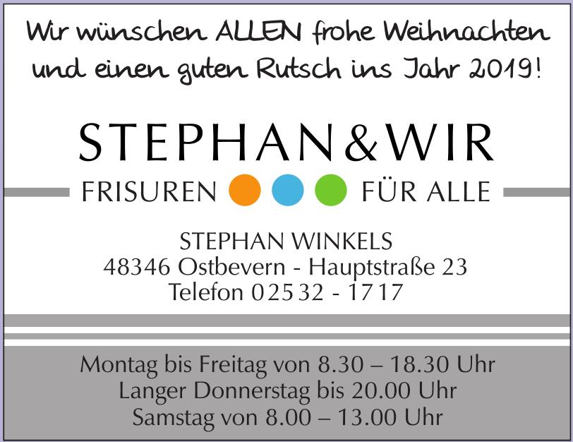 Stephan & Wir