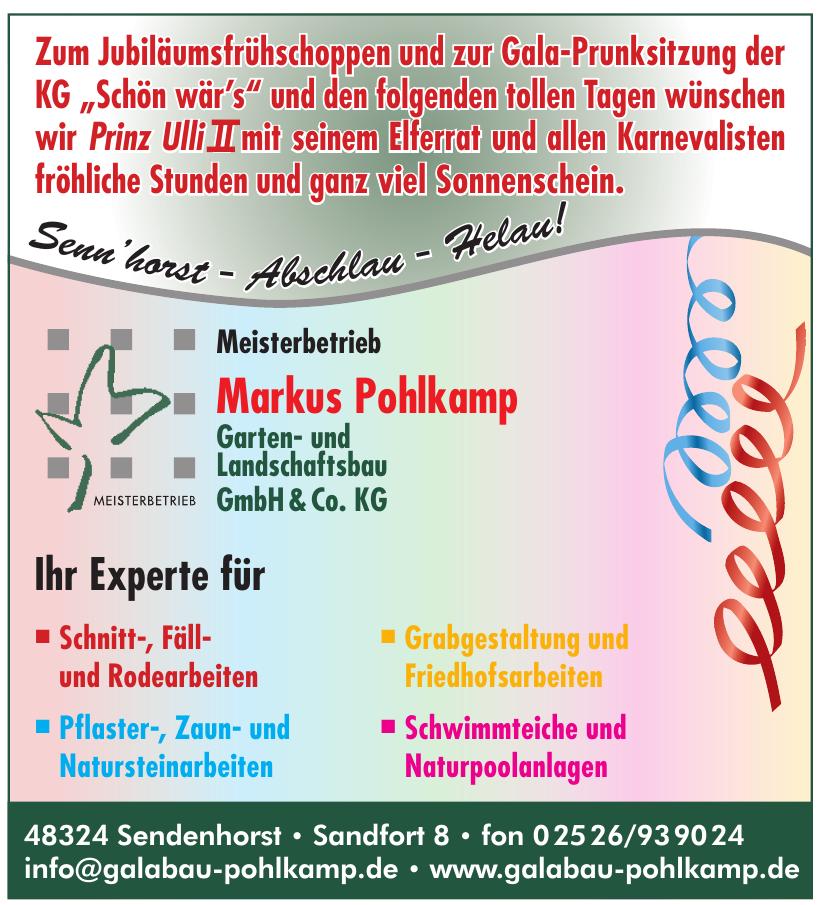 Markus Pohlkamp GmbH & Co. KG Garten- und Lanschaftsbau