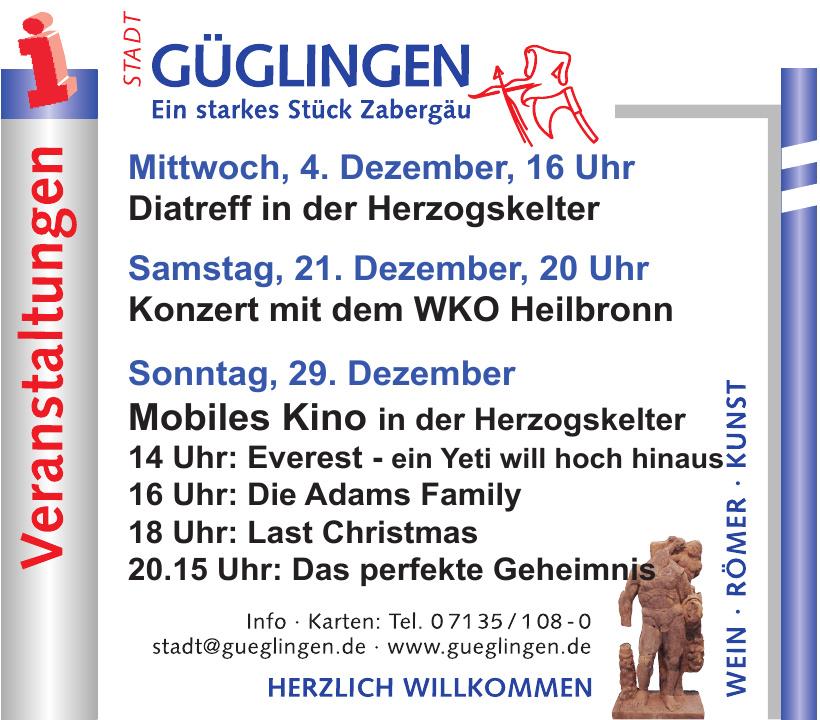 Stadt Güglingen - Landkreis Heilbronn