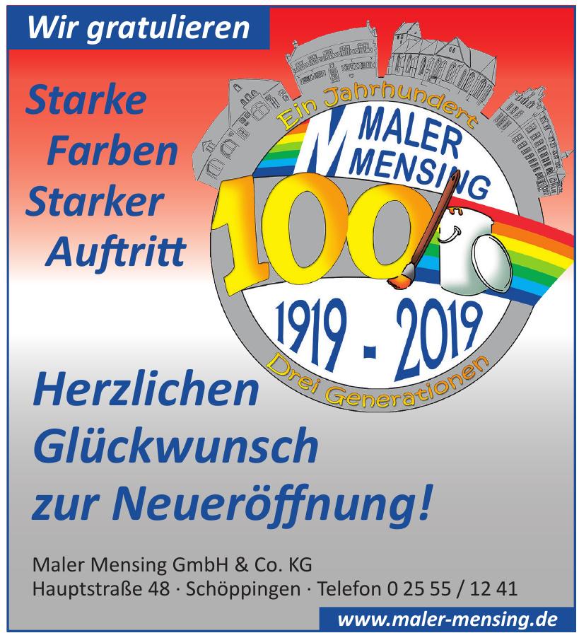 Maler Mensing GmbH & Co. KG