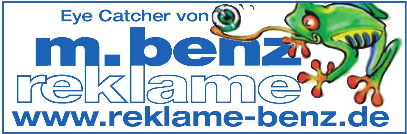 M.Benz Reklame