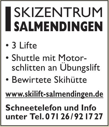 Skilift Salmendingen