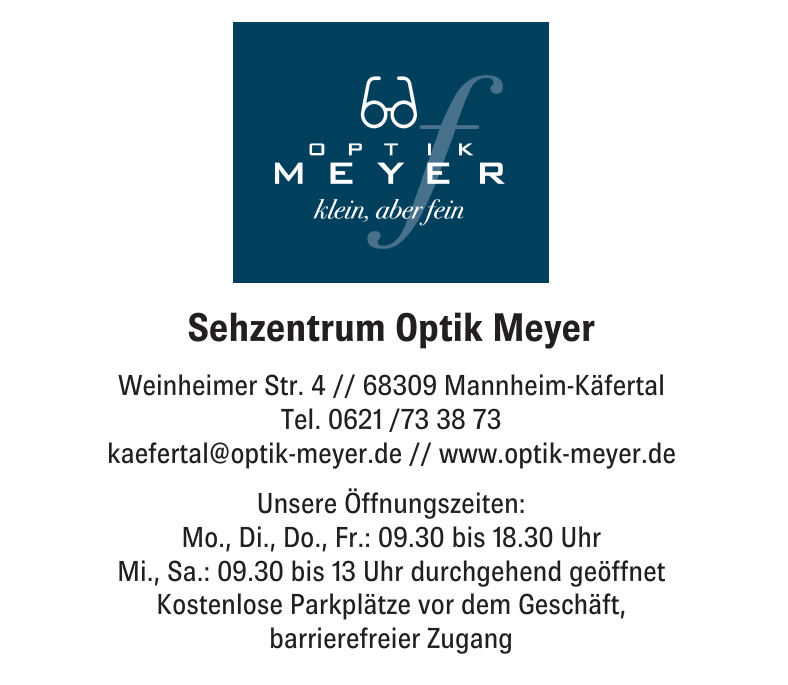 Sehzentrum Optik Meyer