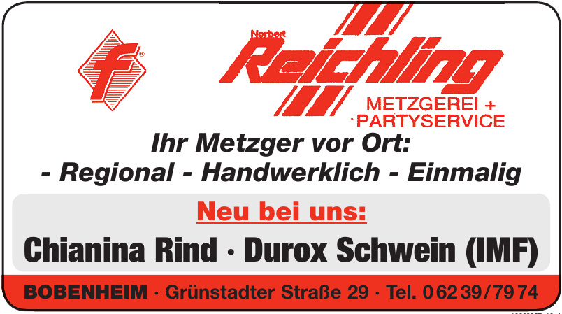Norbert Reichling Metzgerei + Partyservice