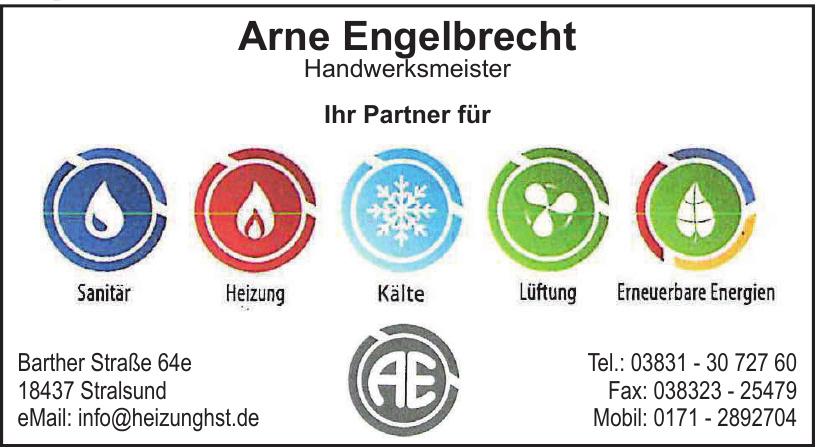 Arne Engelbrecht Handwerksmeister