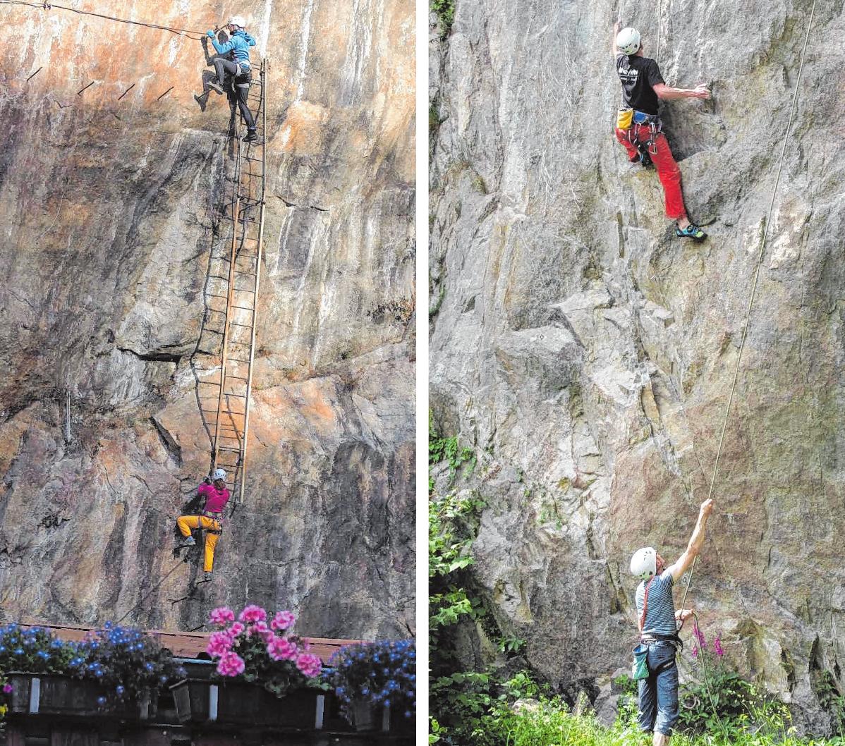 Klettersteige, Sportkletterrouten oder eine Boulderhalle – der DAV Sektion Weinheim hat für jedes Alter etwas zu bieten. Ein offenes Ohr für Gäste und Neulinge macht das Outdoor-Erlebnis für alle möglich.