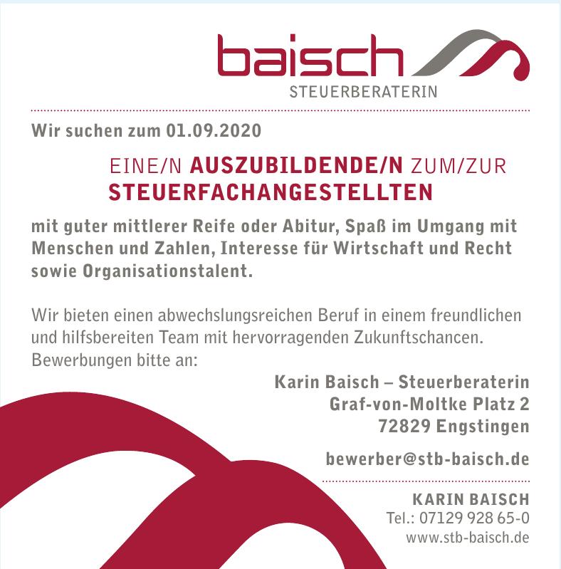 Karin Baisch - Steuerberaterin