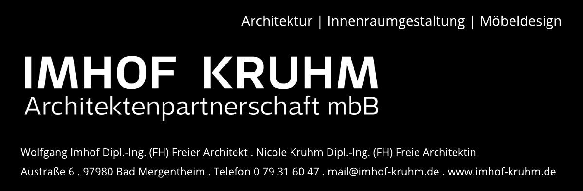 Imhof Kruhm Architektenpartnerschaft mbH
